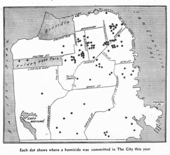 San Francisco Homicides, Jan - Aug 1969