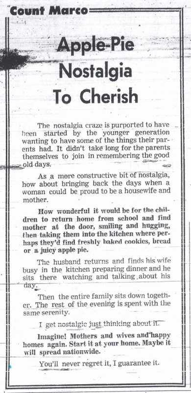 Count Marco - June 27, 1974
