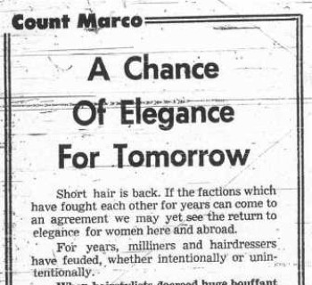 Count Marco - July 2, 1974