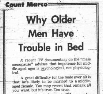 Count Marco - July 8, 1974
